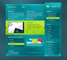 Dioxyportfolio v2 redesign by dioxyzone