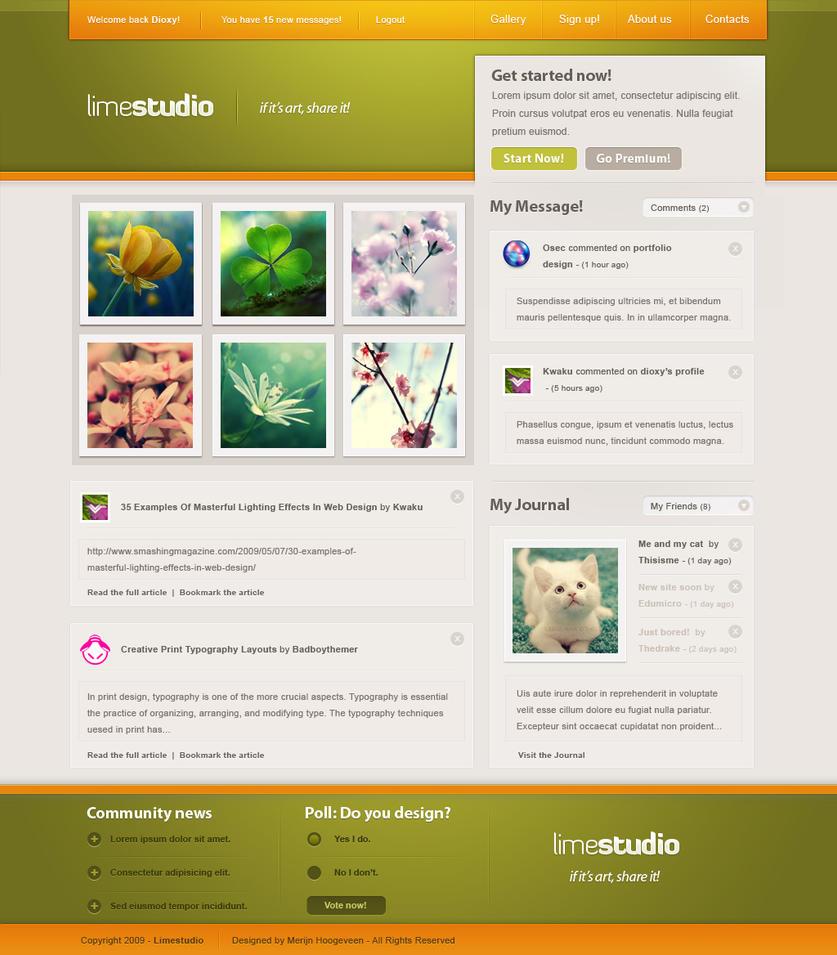 LimeStudio by dioxyzone