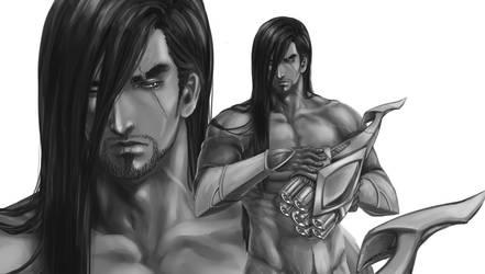 Fanart Master YI from League of Legends