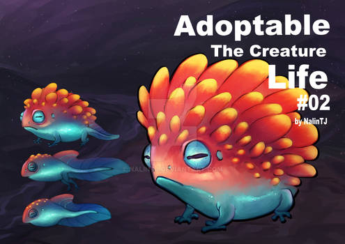 Adoptable The creature Life #02 [CLOSED]