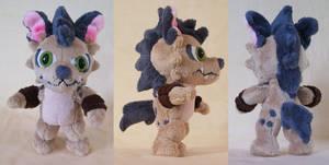 Hyenamon plush by PlushieMania