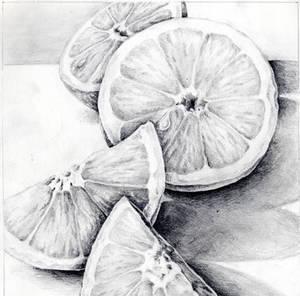 Oranges still life