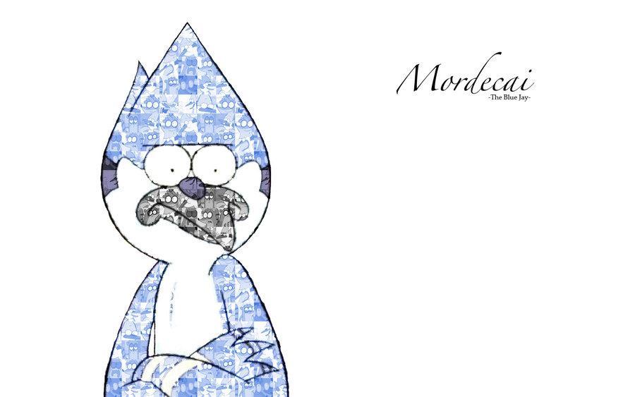 Regular Show Mordecai The Blue Wallpaper