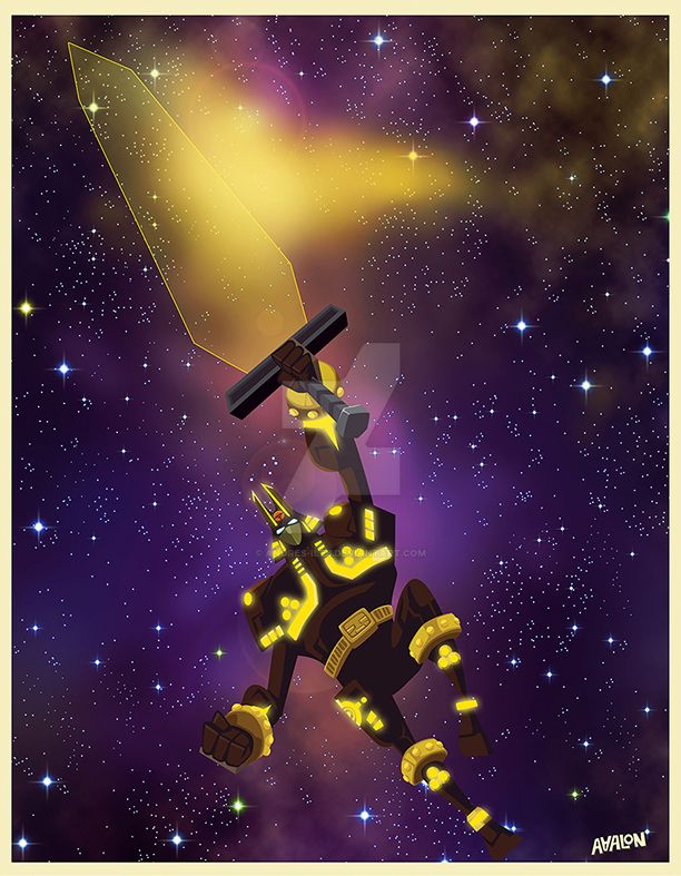 Plasma sword by Andres-Iles