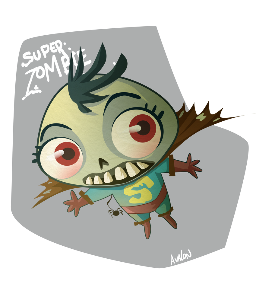 Superzombie by Andres-Iles
