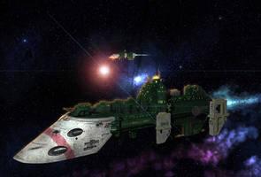 Cobra Class Imperial Frigate by garr0t