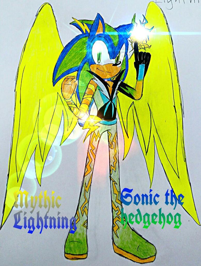 Mythic Lightning Redesign by flamethehedgehog2345