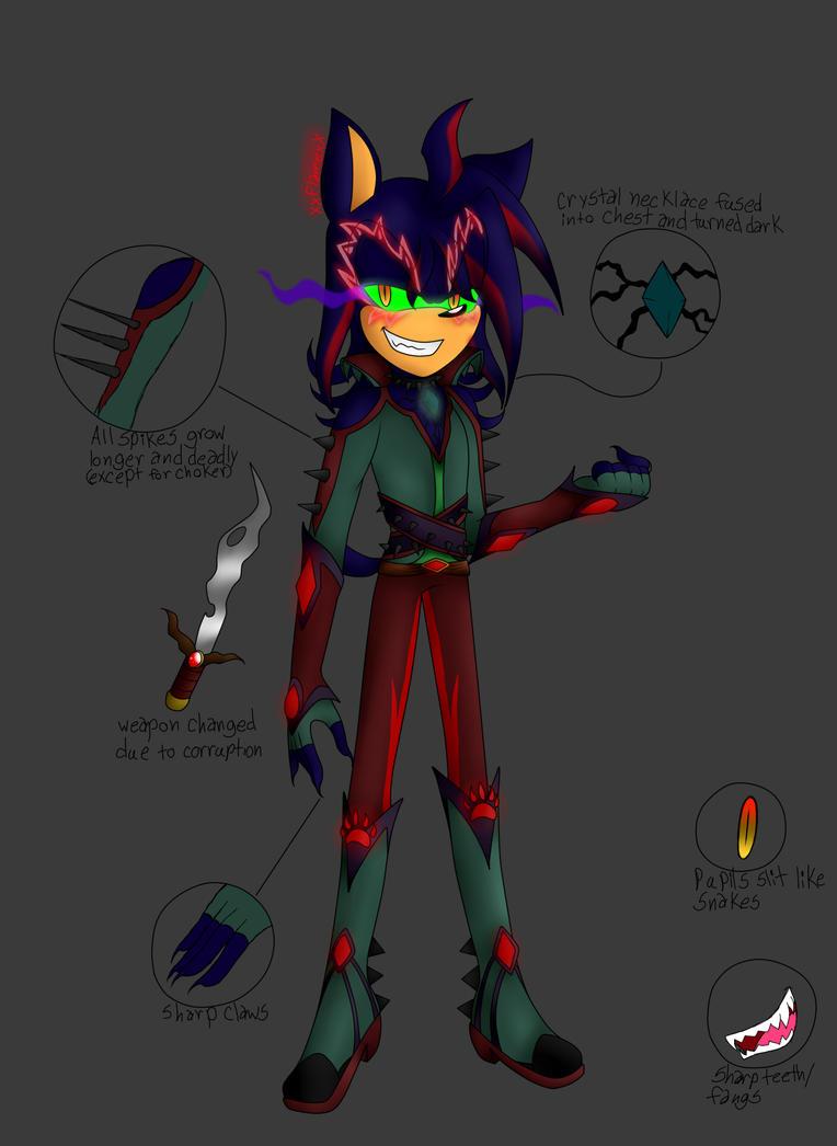 Corrupted Oberon by flamethehedgehog2345