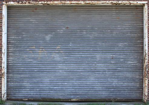 Rusty Roll Up Door Texture