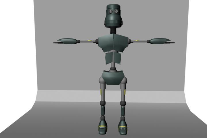 HD Robot by shongu