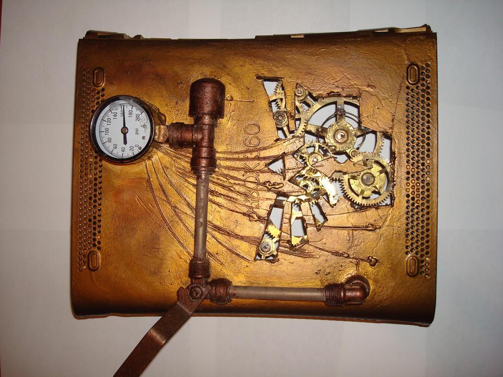 steampunk xbox 4 by Dopelgunder