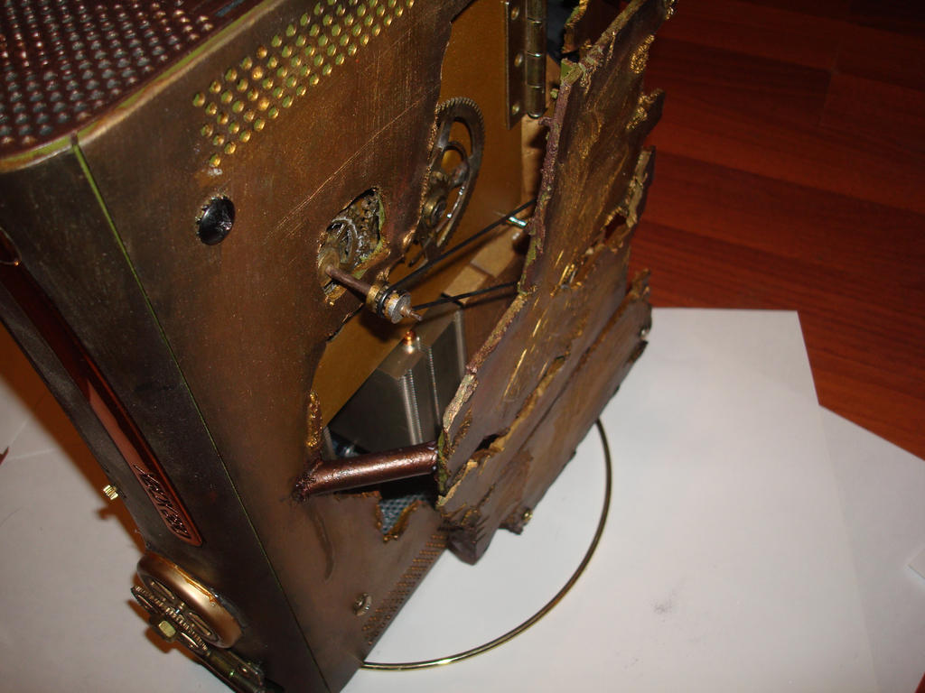 steampunk xbox 7 by Dopelgunder