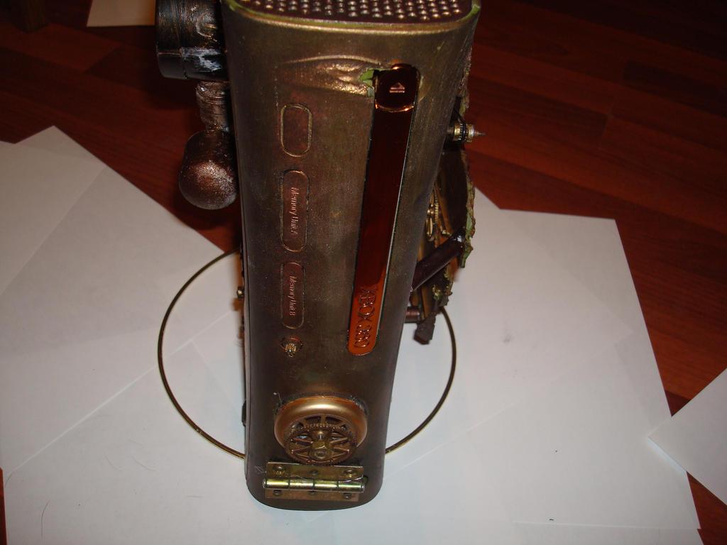 steampunk xbox 8 by Dopelgunder