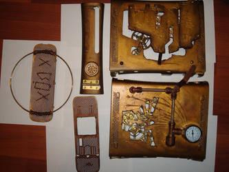 steampunk xbox 10 by Dopelgunder