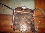 steampunk shoulder pad
