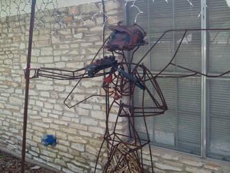 steampunk statue by Dopelgunder