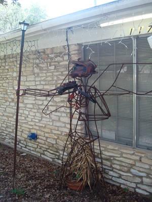 steampunk statue
