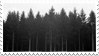 black trees stamp by sentimentalstars