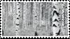 grey forest stamp by sentimentalstars