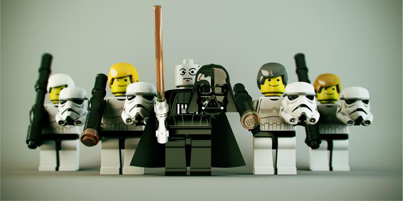 Lego Star Wars - Dark Side Off by DubberRucky on DeviantArt