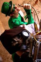 Scarecrow and Riddler by DDark79