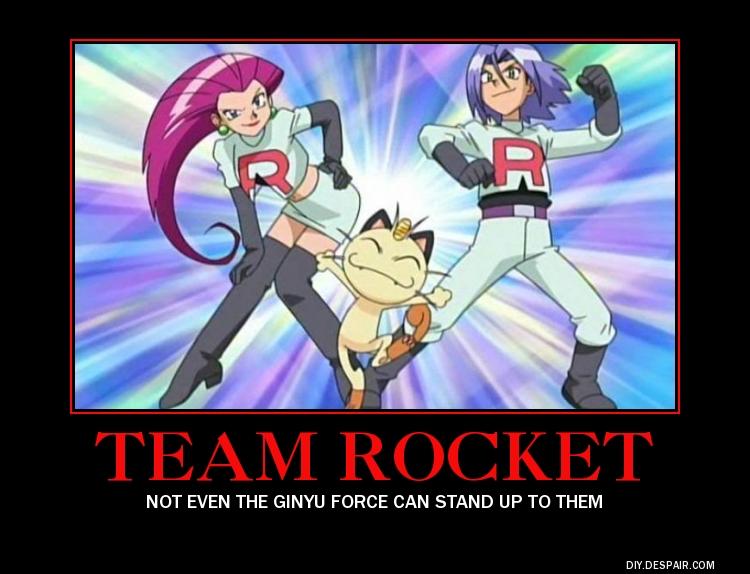 Team Rocket demotivational