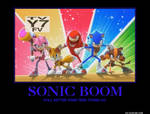 Sonic Boom Demotivational