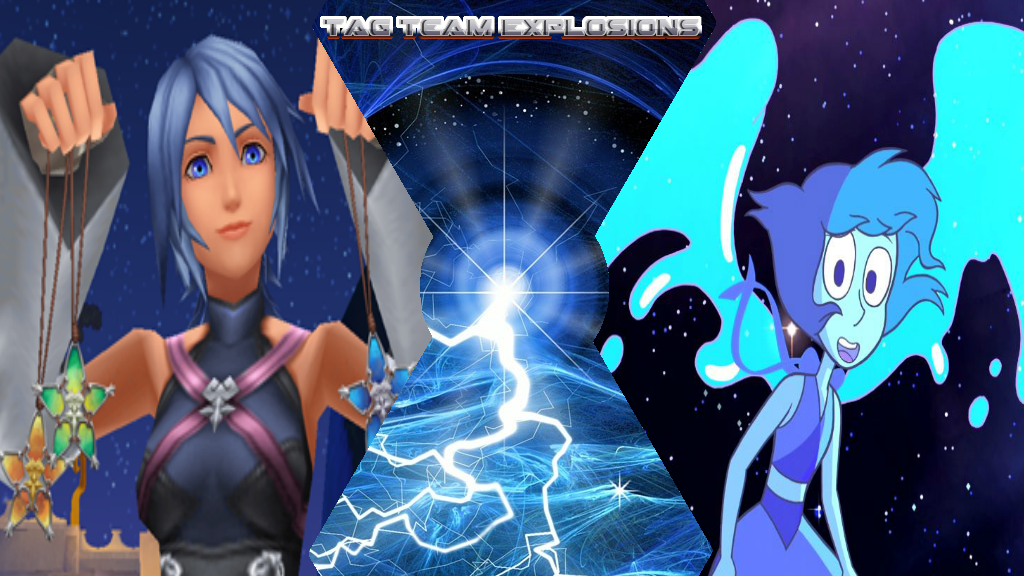 Aqua And Lapis Lazuli by lightyearpig