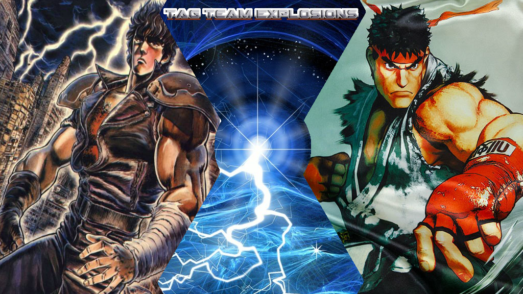 Kenshiro And Ryu by lightyearpig