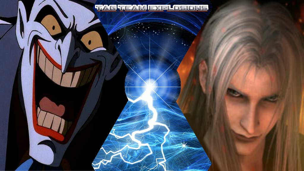 Joker And Sephiroth by lightyearpig