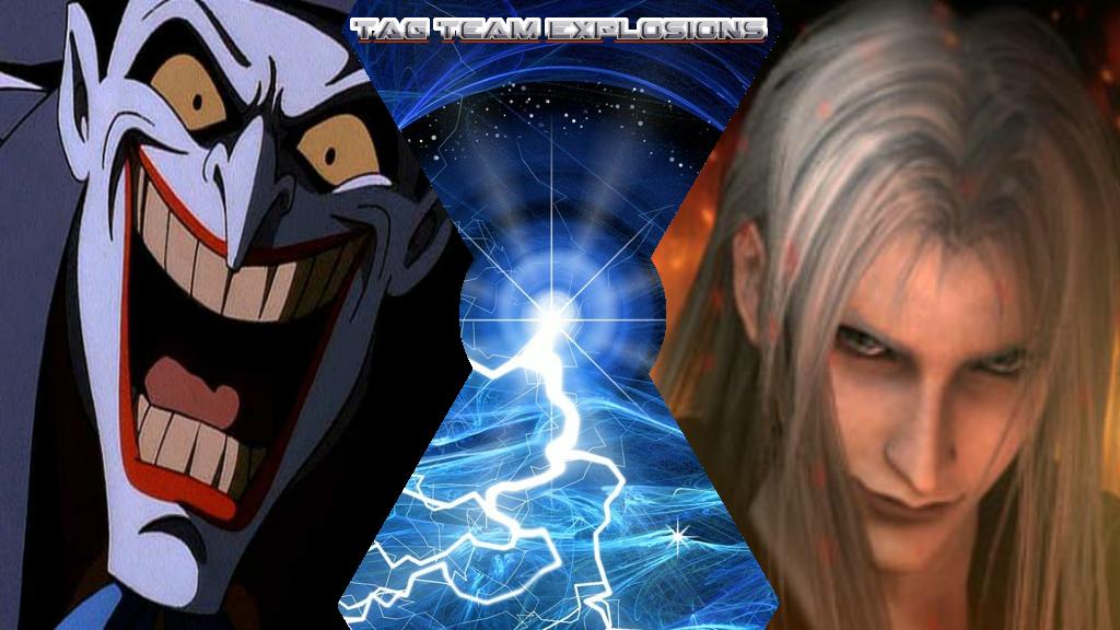 Joker And Sephiroth by lightyearpig