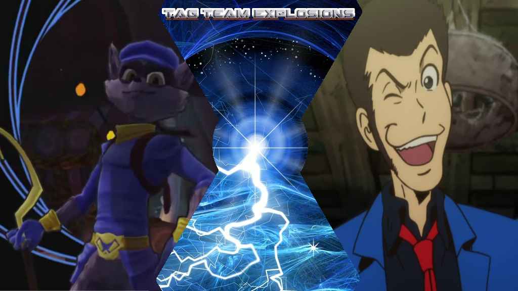 Sly Cooper And Lupin 3rd by lightyearpig