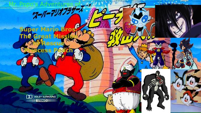 Mr Popo's Adventures Of Super Mario Bros by lightyearpig