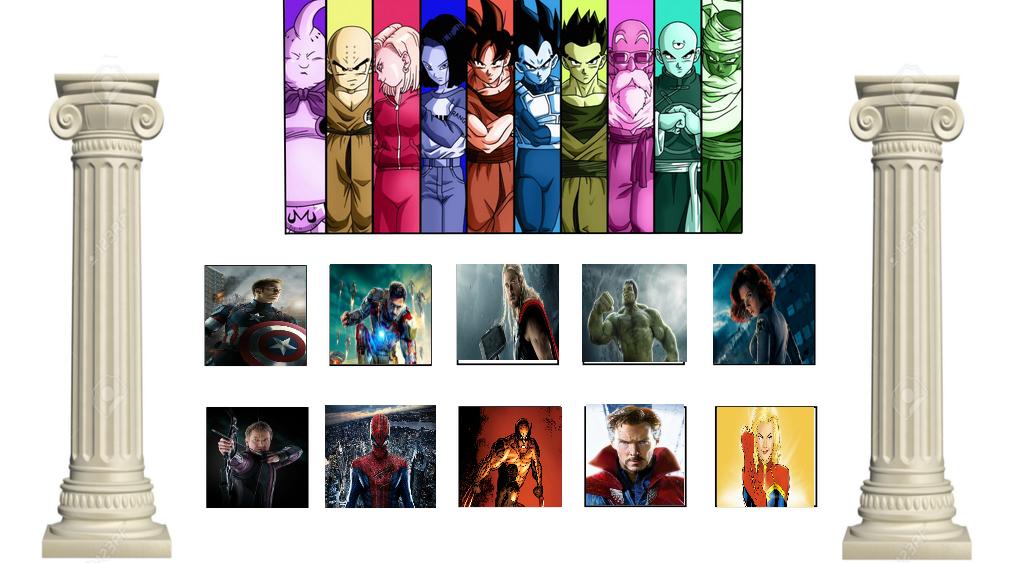 Universal Survival Arc: Team Avengers by lightyearpig