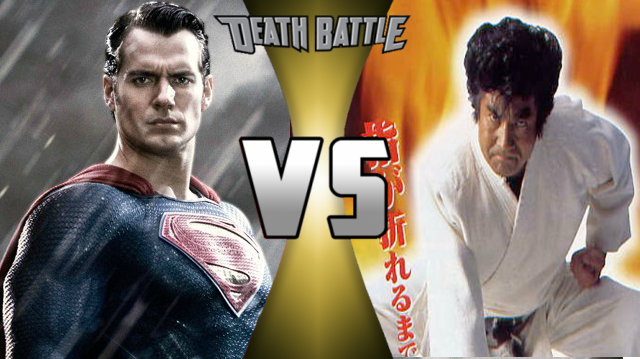 Death Battle: Superman Vs Segata Sanshiro by lightyearpig