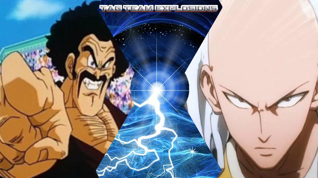 Mr Satan And Saitama by lightyearpig