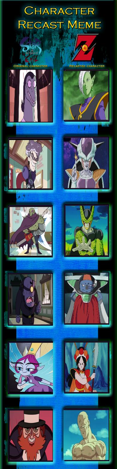 Vegeta vs The Forces Of Evil: Villains by lightyearpig