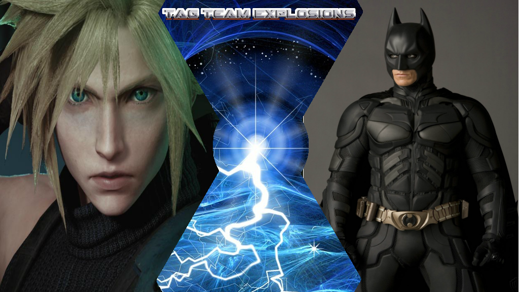 Cloud And Batman by lightyearpig