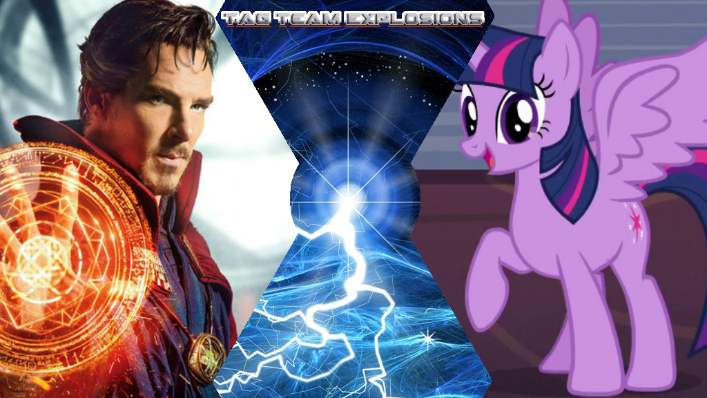 Doctor Strange And Twilight Sparkle by lightyearpig