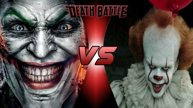 Death Battle: Joker Vs Pennywise by lightyearpig