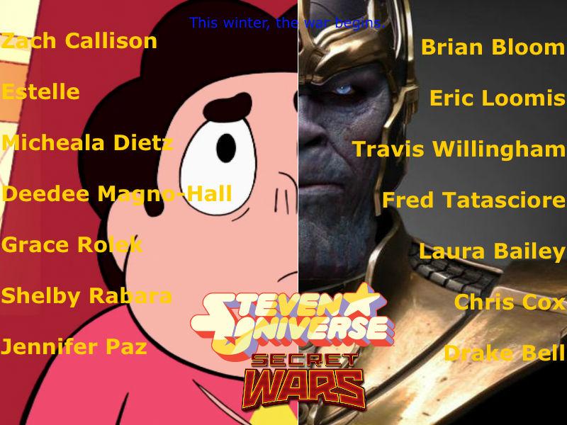 Steven Universe: Secret Wars poster by lightyearpig