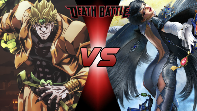 Death Battle: Dio vs Bayonetta by lightyearpig