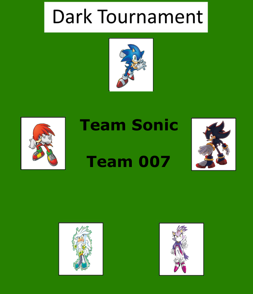 Dark Tournament: Team Sonic by lightyearpig