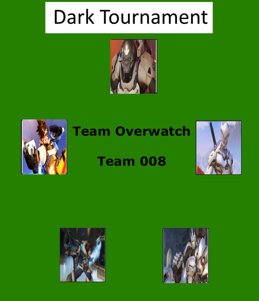 Dark Tournament: Team Overwatch by lightyearpig