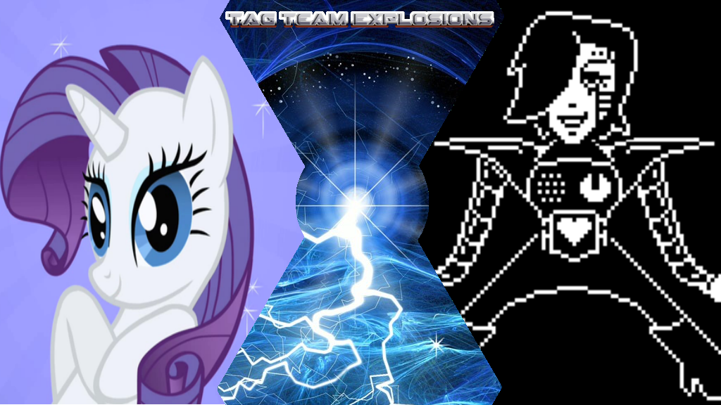 Rarity And Mettaton by lightyearpig
