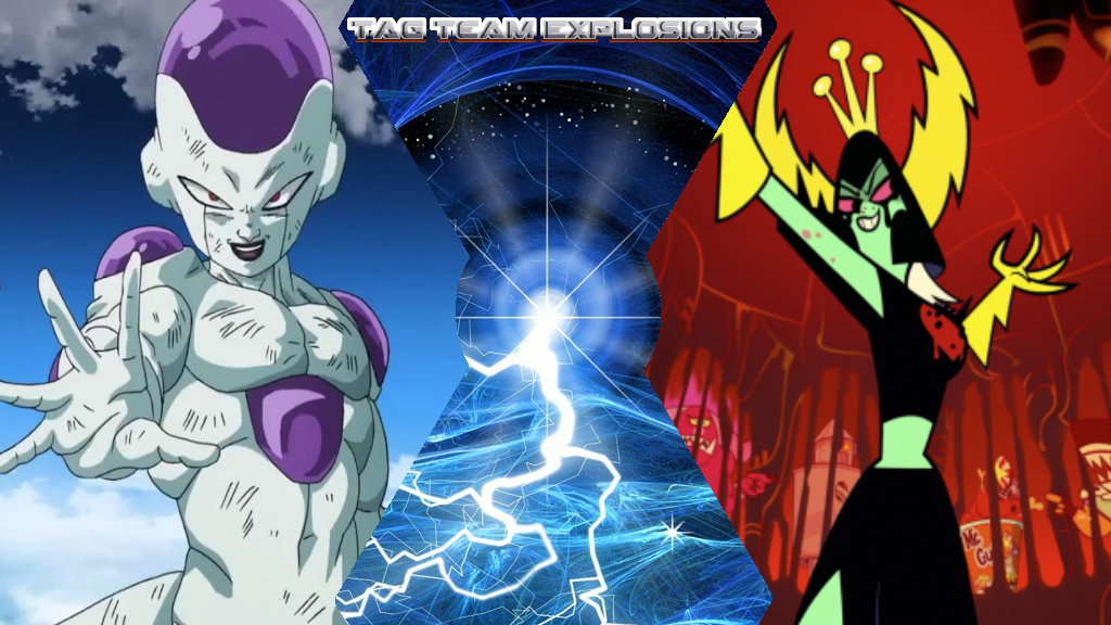 Frieza And Lord Dominator by lightyearpig