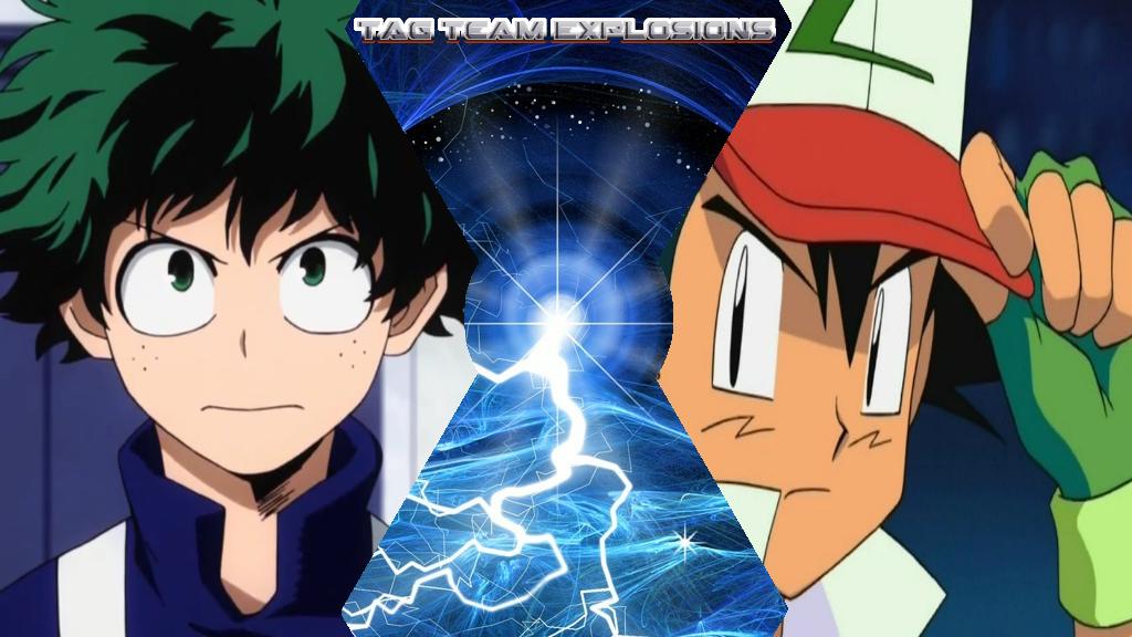 Izuku And Ash by lightyearpig