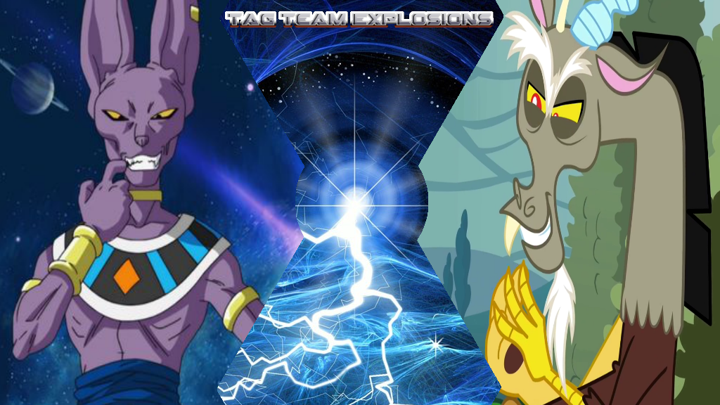Beerus And Discord by lightyearpig