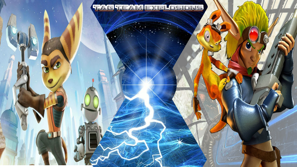 Ratchet  Clank And Jak  Daxter by lightyearpig