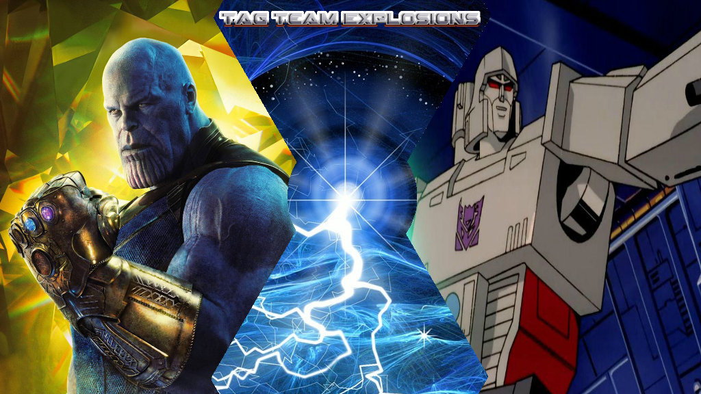Thanos And Megatron by lightyearpig